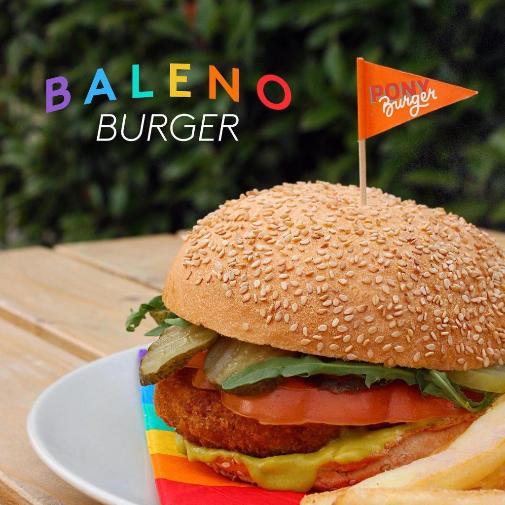 Burger vegan Bergamo Pride