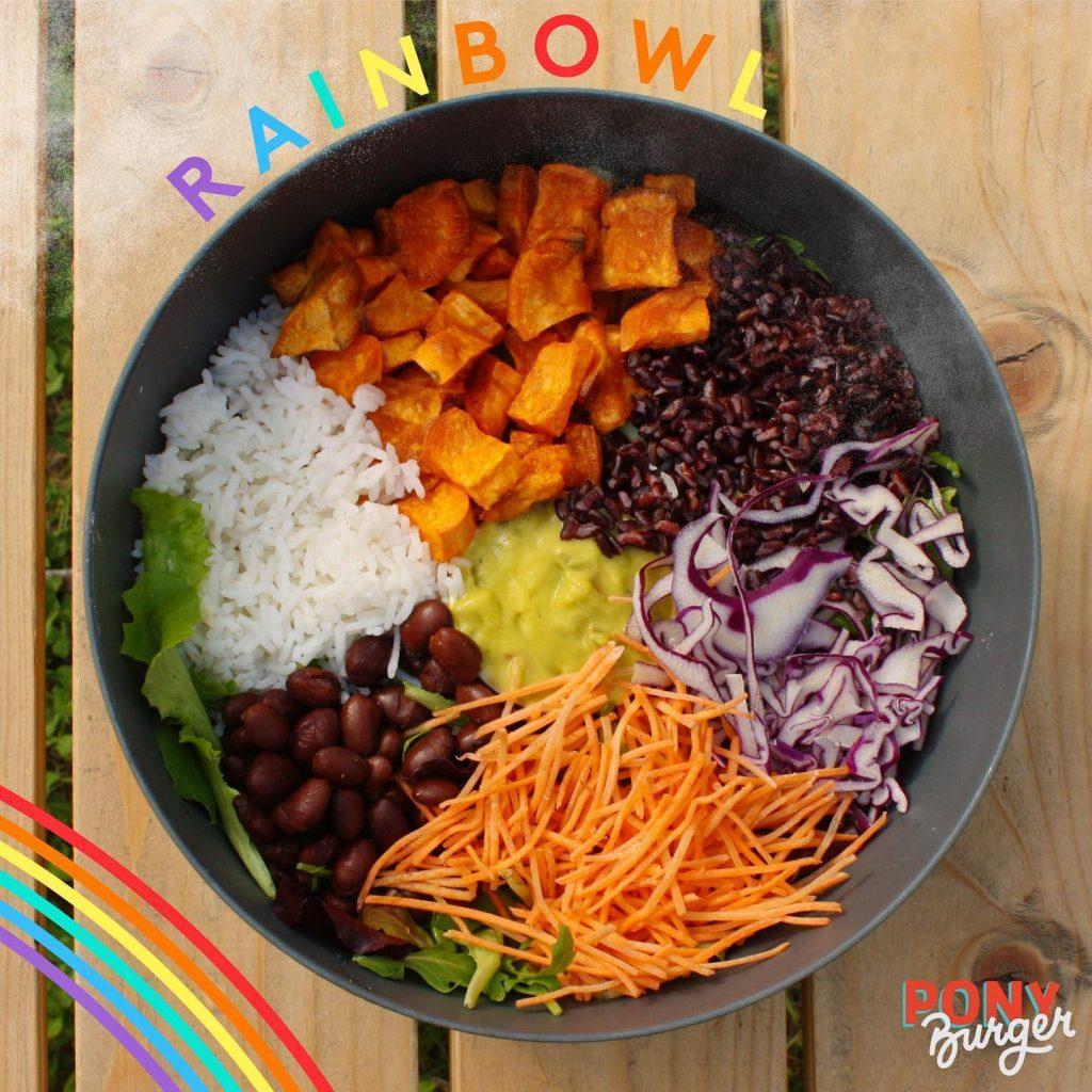 Bowl vegan Bergamo Pride
